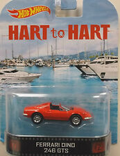 1/64 Hot Wheels Retro HART to HART Ferrari Dino 246GTS
