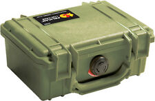 New OD Green Pelican 1150 empty Case includes free Engraved Nameplate Colors