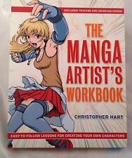 The Manga Artist's Workbook Own Characters Christopher Hart How To Draw Anime
