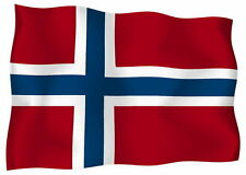Adesivo Auto Sticker Tuning Moto Auto Stickers Bandiera Bandiera Norvegia