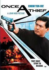 John Woo ONCE A THIEF rare Chinese Action dvd CHOW YUN FAT 1990s Ln