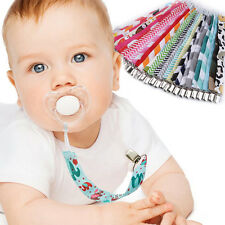 Exquisite Baby Nipple Clip Dummy Pacifier Soother Nipple Leash Strap Chain Clip