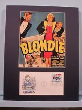 The famous comic strip - Blondie and First Day Cover