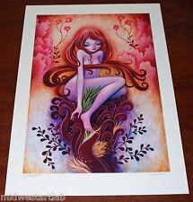 Jeremiah Ketner Morning Mist Fine Art Print Poster S/# of 30 w/ COA Disney