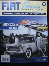 FASCICULE 31 FIAT STORY COLLECTION  1800 / 125 CARROSSERIES SPECIALE