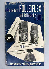 The Modern Rolleiflex & Rolleicord Guide By Kenneth Tydings 1954 Edition - Rare