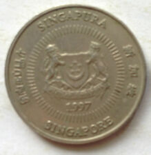 Singapore 2nd Series 50 cents coin 1997
