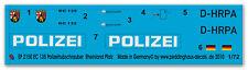 Peddinghaus 2150 1/72 EC 135 Helicóptero de la policía Renania-Palatinado D-HRPA