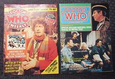 1979/81 DOCTOR WHO Marvel UK Weekly #3 No Transfers FVF #56 FVF LOT of 2