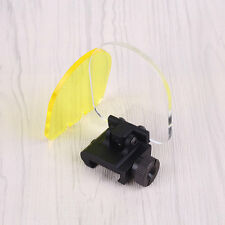 Outdoor Scope Sight Lens Protector Cover Shield Panel Airsoft Paintball Game
