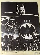 SIGNED Batman The Dark Knight Returns Frank Miller Art Gallery / Artist Edition
