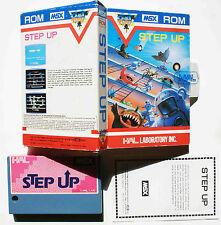 STEP UP sur MSX