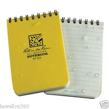 """NEW! Rite in the Rain Shirt Pocket Notebook 3"""" x 4.5"""" All-Weather Writing #134"""