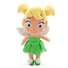 "NEW! Disney Store Toddler Tinker Bell Plush Doll 13"" - Peter Pan Figure Soft"