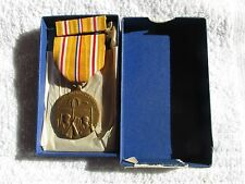 WW2 Asiatic Pacific Campaign medal Mint original box  w/ribbon bar super nice