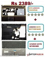 LENOVO G570 BASE BOTTOM + PALMREST WITH TOUCHPAD + KEYBOARD (COMBO OFFER)