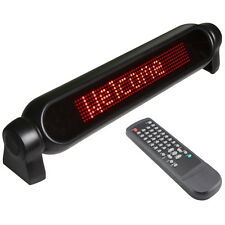 CAR ADVERTISING SCROLLING LED LIGHT SIGN MESSAGE BOARD DISPLAY  REMOTE CONTROL