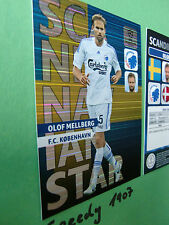 Champions League Scandinavian Star mellberg Panini Adrenalyn 2013 2014 Rare