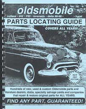 Find Oldsmobile Parts with book 1947 1948 1949 1950 1951 1952 1953 1954 Olds