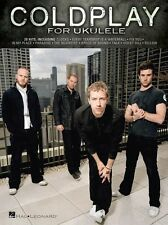 Coldplay for Ukulele Learn to Play Paradise Yellow Clocks Fix You UKE Music Book