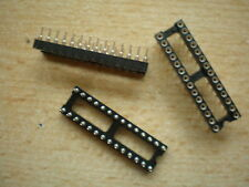 IC socket 28 pin turned pin 4pcs £5.00