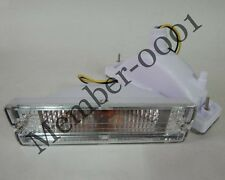 Bumper Front Turn Signal Light Crystal Lens for Nissan D21 Hardbody Pickup Truck