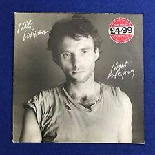 NILS LOFGREN Night Fades Away 1981 UK vinyl LP EXCELLENT CONDITION