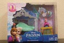DISNEY FROZEN ANNA MAGIC CLIP DOLL~FLIP N SWITCH CASTLE From The Movie Frozen