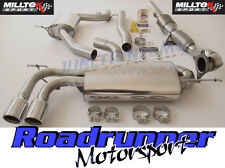 "Milltek Golf GTI MK5 Turbo Back Exhaust System 2.75"" Resonated Inc Downpipe Cat"