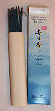 Japanese Incense Sticks | Quality Collection | Mainichikoh Aqua | Nippon Kodo