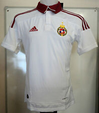 WISLA KRAKOW 2010/11 S/S WHITE AWAY SHIRT BY ADIDAS ADULTS SIZE XXL BRAND NEW