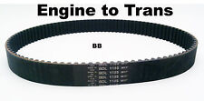 "BDL 11mm 1 1/2"" Primary Belt 99 Tooth BDL-1185 For Harley-Davidson"