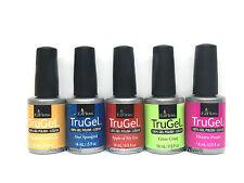 EZFlow Nail TruGel- SET OF 5 bottles- Choose any Color/Bond-It-On/Base/Top 0.5oz