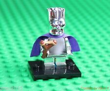 Lego Silver Chrome Simpsons Minifigure series 2 Bart as Batman NEW!!!!