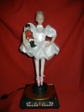 ANIMATED NUTCRACKER SUITE BALLERINA CHRISTMAS DISPLAY FIGURE PROP - ELECTRIC