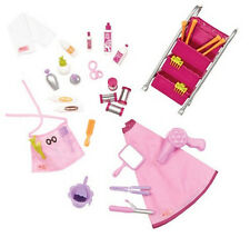 """30 pc Berry Nice Hair Salon Accessory Set Our Generation American Girl 18"""" Doll"""