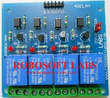 4 Channel +12V OPTOCOUPLER BASED Relay Board Module for ALL MICROCONTROLLER