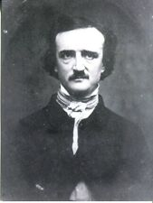 POSTCARD OF EDGAR ALLEN POE FAMOUS AUTHOR FROM A VINTAGE PHOTOGRAPH