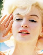 Marilyn Monroe -  Marilyn photographed in 1962 .