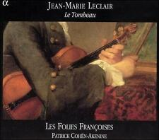 Leclair: Le Tombeau /Les Folies Francoises  Cohen-Akenine, New Music