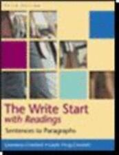 The Write Start with Readings; Sentences to Paragraphs - Third Edition