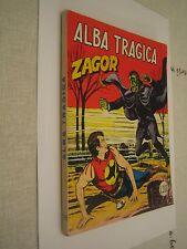 ZAGOR ZENITH N. 138 ORIGINALE L. 200 -  QS EDICOLA