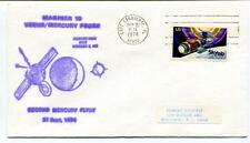 1974 Mariner 10 Venus Mercury Probe Second Flyby Cape Canaveral Skylab USA SAT
