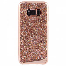 Case-Mate Brilliance Tough Case Rose Gold Crystals for Samsung Galaxy S8 Plus