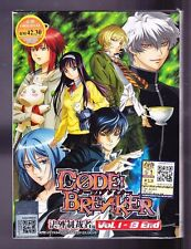 *NEW* CODE : BREAKER *13 EPISODES*ENGLISH SUBTITLES*ANIME DVD*US SELLER*