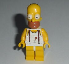 "THE SIMPSONS Lego Homer - ""Tank Top & Underwear"" Custom NEW (Genuine Lego parts)"