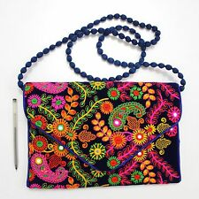 Vintage Triabal Banjara Indian Handmade Ethnic Women Purse Designer Clutch Bag