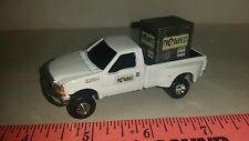1/64 CUSTOM Ford f350 pro harvest dealer TRUCK WITH probox of seed pallet ERTL