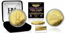 Kobe Bryant Los Angeles Lakers Final Season Career Tribute Gold Plated Mint Coin