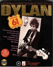 BOB DYLAN INTERACTIVE MUSIC CD-ROM FOR WINDOWS OR MAC new in cardboard box